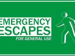EMERGENCY ESCAPES FOR GENERAL USE